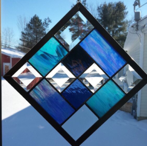 I Love This Suncatcher @ Essex Stained Glass | Essex | Ontario | Canada