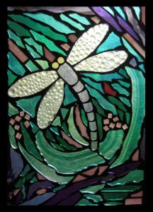 Dragonfly Mosaic @ Essex Stained Glass Studio | Essex | Ontario | Canada