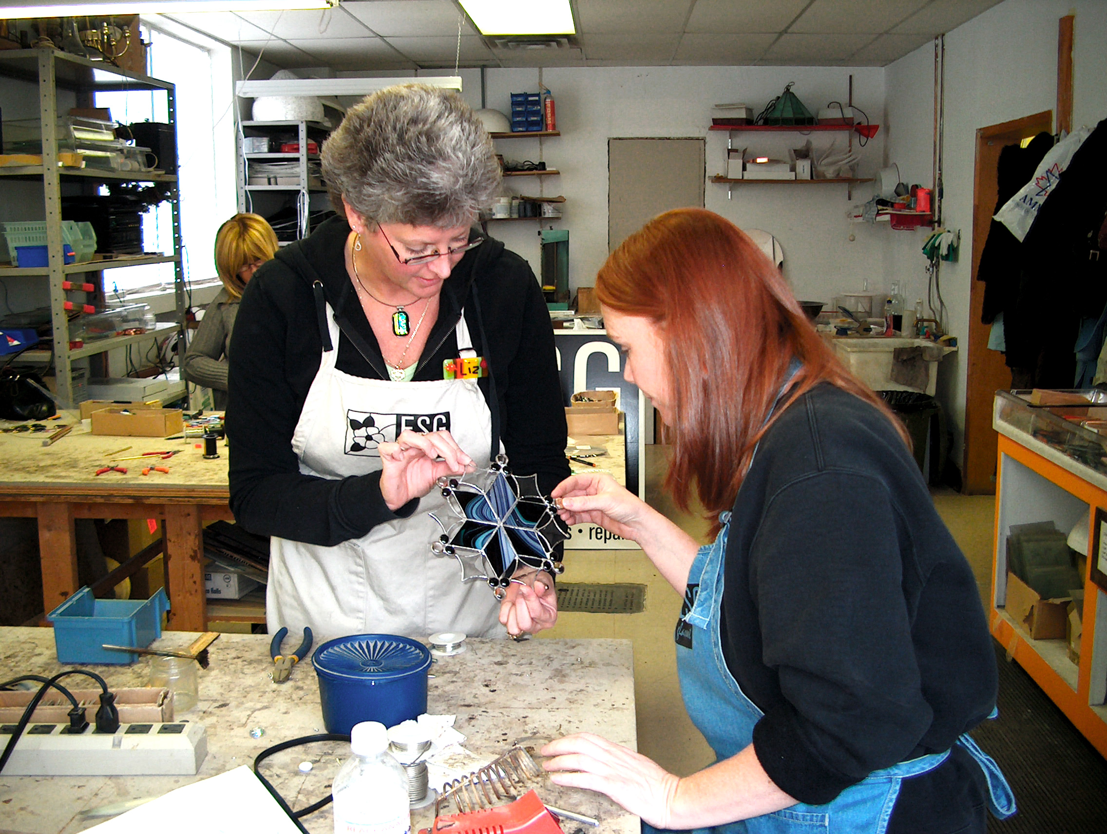 Six Week Stained Glass Class