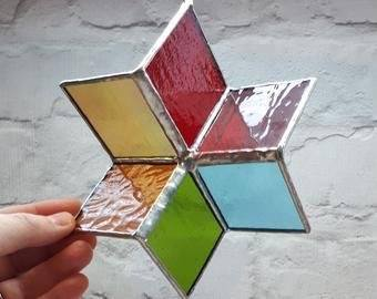 Stained Glass Spinners